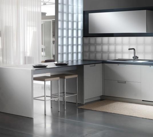 kitchens rochester glass block