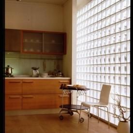Glass Block Kitchen