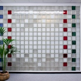 Redi2Design Glass Block Wall