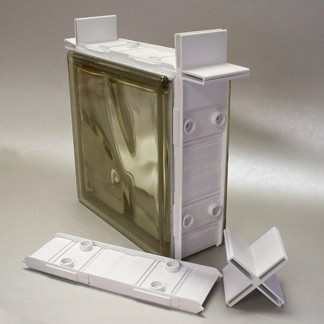 Installation options rochester glass block for Glass block options