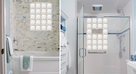 Exceptionnel Glass Block Bathroom Windows