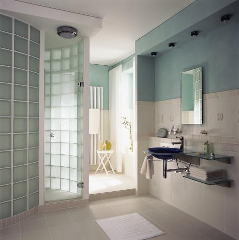 Shower Walls | Rochester Glass Block