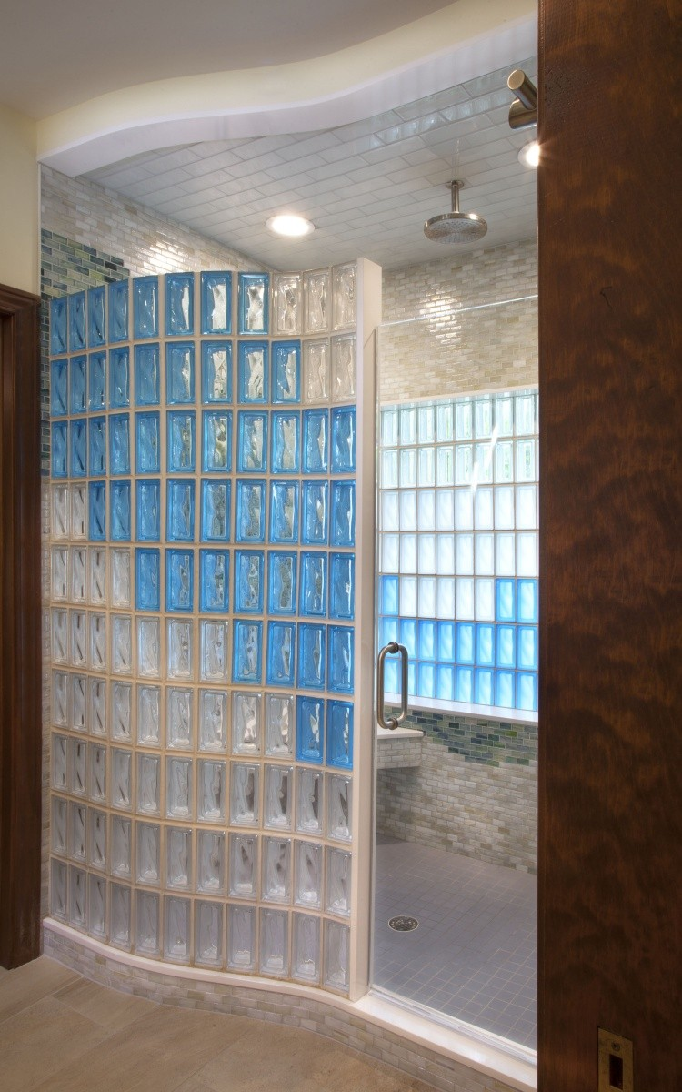 Walls and Showers | Rochester Glass Block